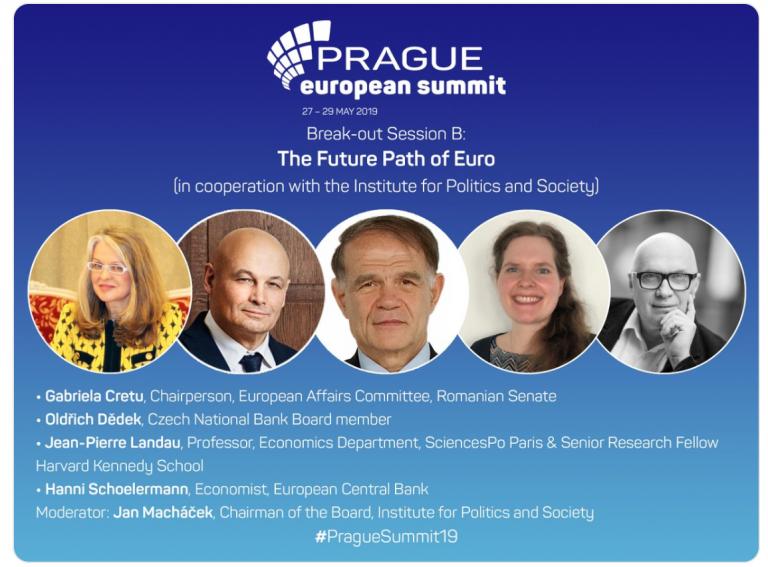 """La """"Prague European Summit"""". Despre euro, Uniune și cetățeni"""