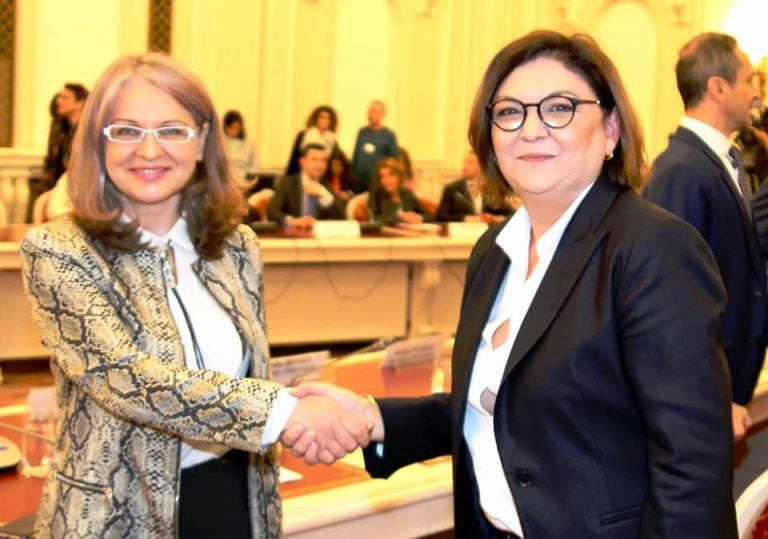 Audierea Adinei Ioana Vălean, candidata României pentru funcția de comisar european, de către Comisiile pentru afaceri europene din Parlamentul României
