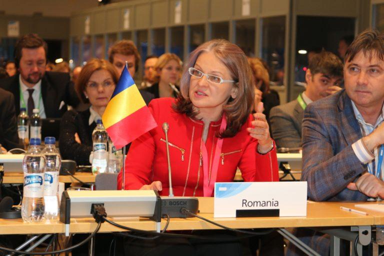 """Gabriela Crețu: """"Țara mea, România, a fost în mod special implicată pe durata Președinției Consiliului UE în adoptarea măsurilor de contingență necesare în cazul Bexit."""""""